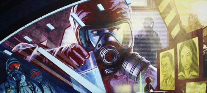 Pandemic Legacy Season 1 Brettspiel.