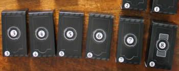 Acht Pakete gilt es zu erspielen.