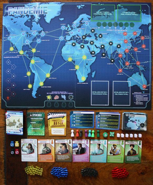 Spielzubehör von Pandemie (Z-Man Version)