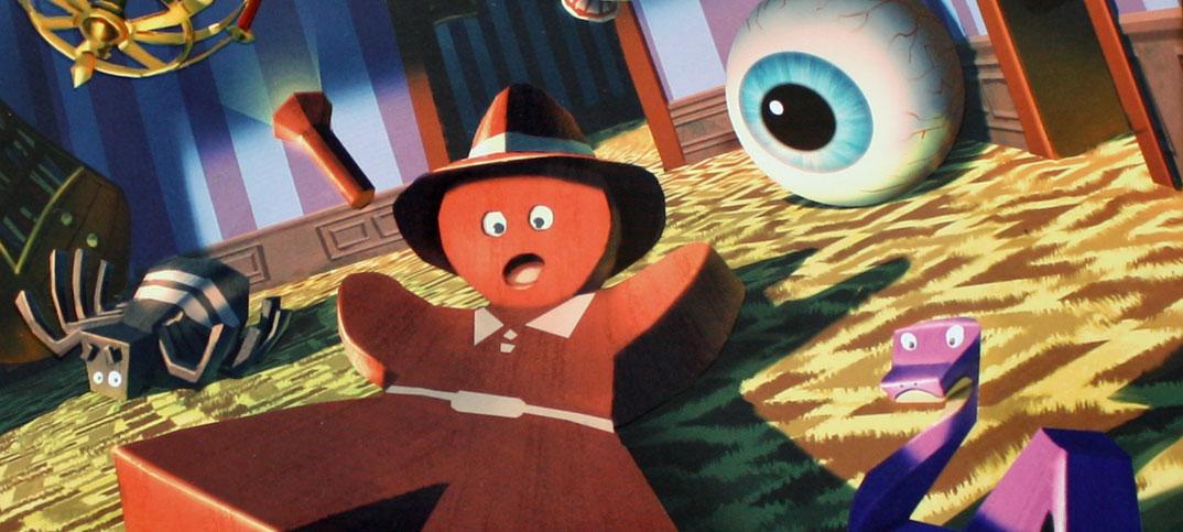 Panic Mansion Kinderspiel von Blue Orange.