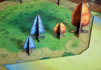 Die Spieler erhalten Lichtpunkte für ihre Bäume.