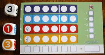 So sieht der Block des aktiven Spielers nach dem ersten Durchgang aus.