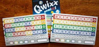 Qwixx gemixxt Spielblöcke
