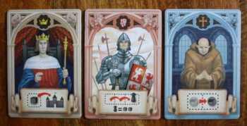 König, Ritter und Mönch