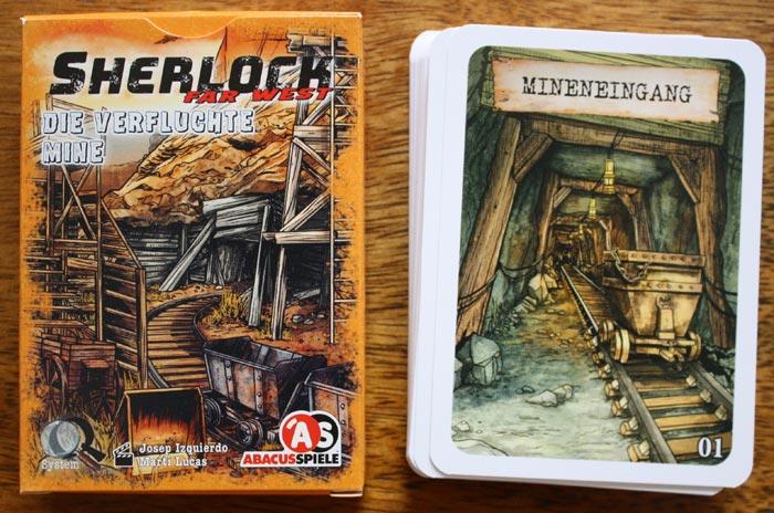 Zubehör: Sherlock Far West Fall - Die verfluchte Mine.