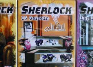 Sherlock Kartenspiel Serie 2 von Abacusspiele.