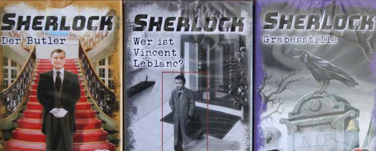 Sherlock Kartenspiel Serie 3 von Abacusspiele.