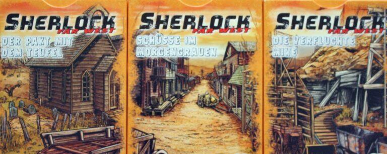 Sherlock Far West Serie von Abacusspiele.