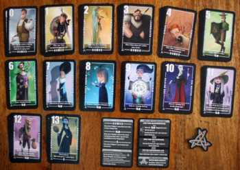 Die Spielkarten von Silver Amulett.