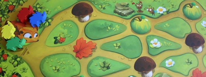 Alle Spieler starten auf dem ersten Spielplan.