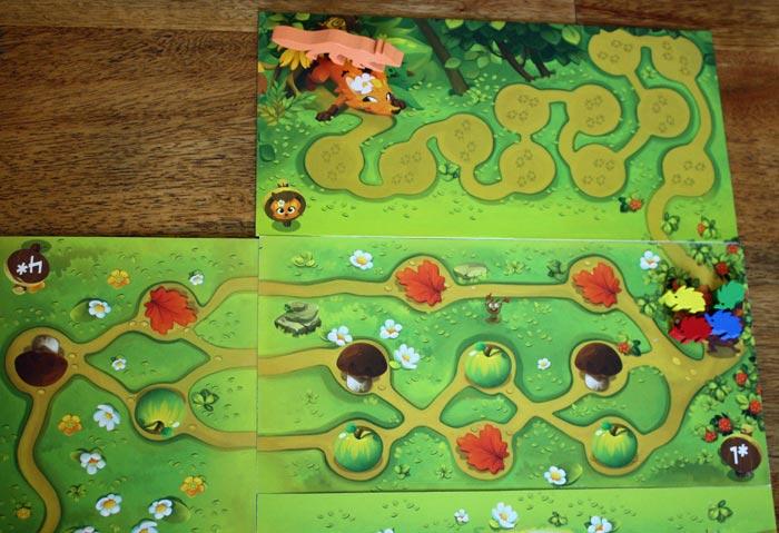 Mit dem Fuchs kommt eine weitere, kooperative Spielvariante ins Spiel.