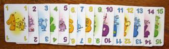 Kartenhand sichten.
