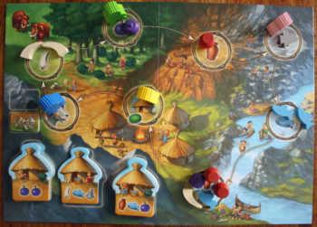 Die Spielfigur wird über die Pfeile weitergezogen.