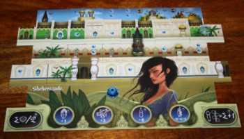Der fertige Palast der Sheherazade.