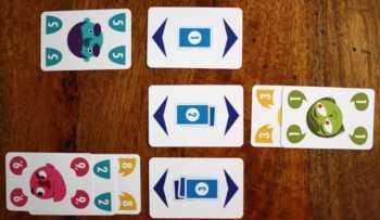 1, 2 oder 3 Karten tauschen