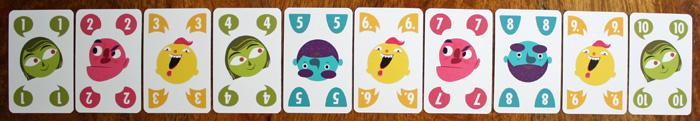 Die Spielkarten in Tausch Rausch