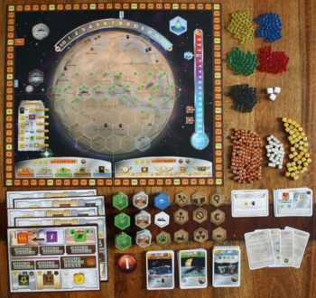Zubehör von Terraforming Mars.