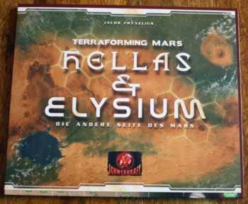 Spielzubehör von Hellas und Elysium.