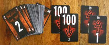 Spielkarten von The Game