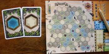 Der Spieler verbindet den Tempel mit seinem Dorf.