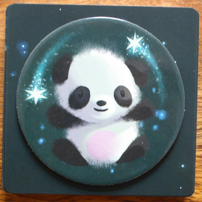 Der Panda kann den Albtraum vertreiben - der Spieler erhält 2 Traum-Plättchen.