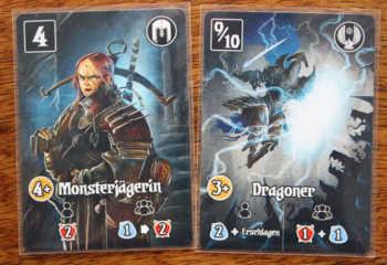 Die Monsterjägerin und der Dragoner in Schattental.