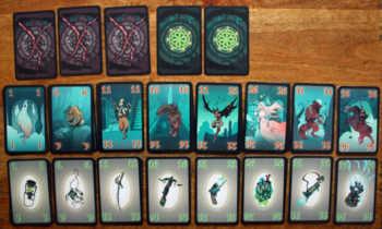 Spielkarten zum Kartenspiel Verflucht!