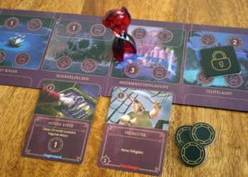 Der Spieler zieht auf die Lagune und führt die Aktionen aus.