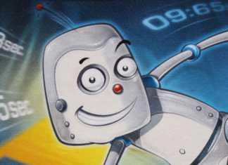 Wir sind die Roboter Kartenspiel von NSV.