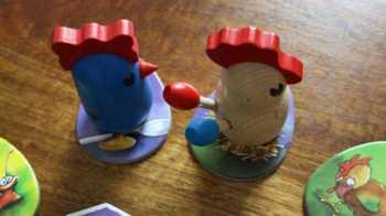 4. Feder des überholten Huhns klauen.