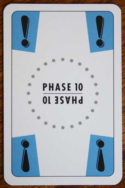 Die Aussetzen-Karte von Phase 10.
