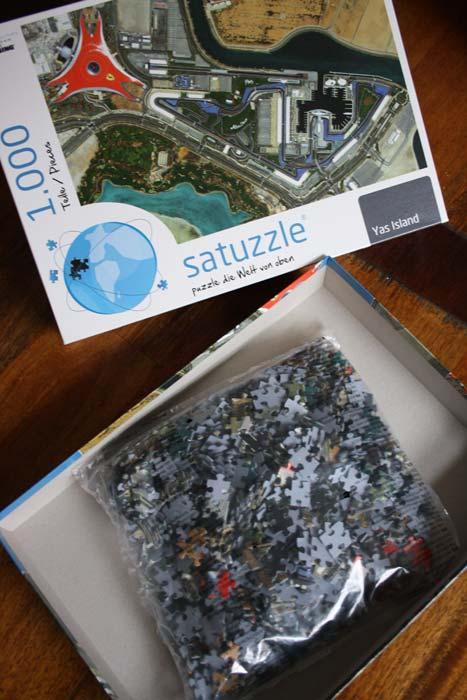 Ansprechende Verpackung und hochwertige Puzzlesteine von Satuzzle.