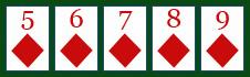 Poker: Straight Flush