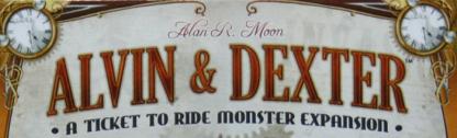 Alvin und Dexter (Zug um Zug Erweiterung)