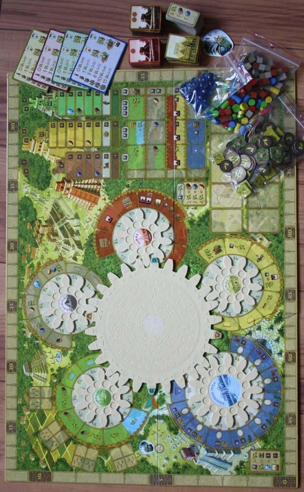 Spielzubehör von Tzolkin - der Maya Kalender