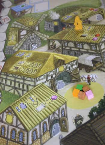 Spielplanauszug: Das Handwerk