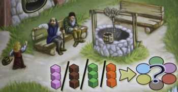 Spielplanauszug: Der Brunnen