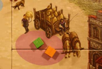 Spielplanauszug: Die Getreideernte