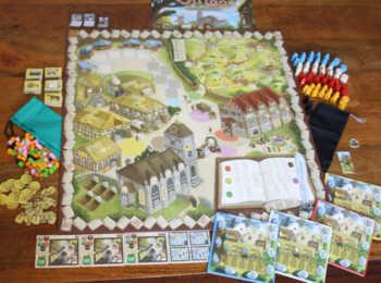 Das umfangreiche Spielzubehör von Village.