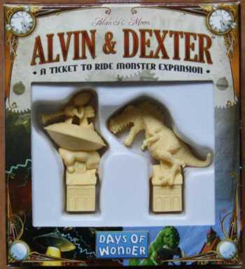 Die Alvin und Dexter Spielbox.